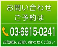 お問い合わせ先 電話番号 03-6915-0241